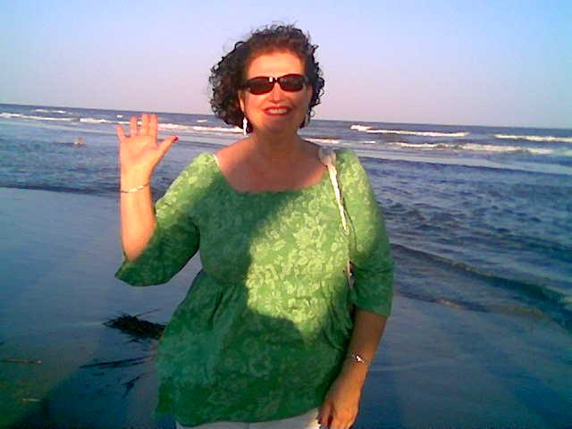 joellen at beach